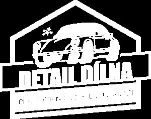 Logo bílé Detail Dílna